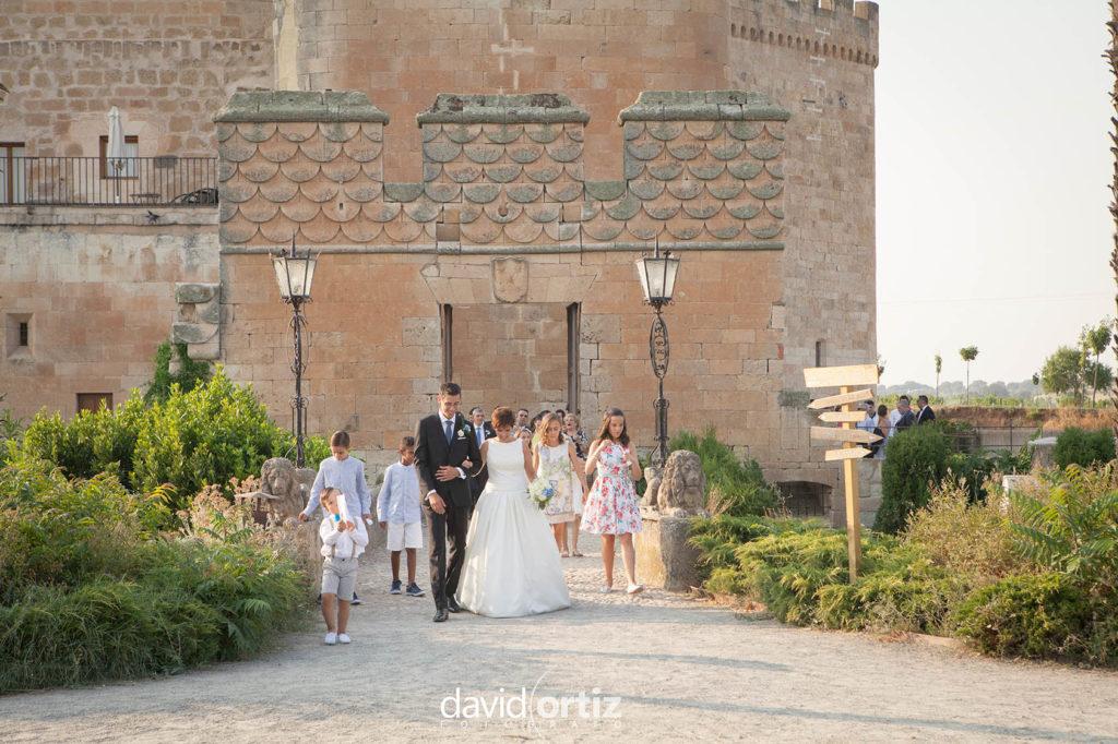 reportaje de boda Castillo buen amor imanol y blanca 18