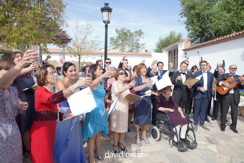 fotógrafo de boda Eva y Juanan salones el Paseo 124