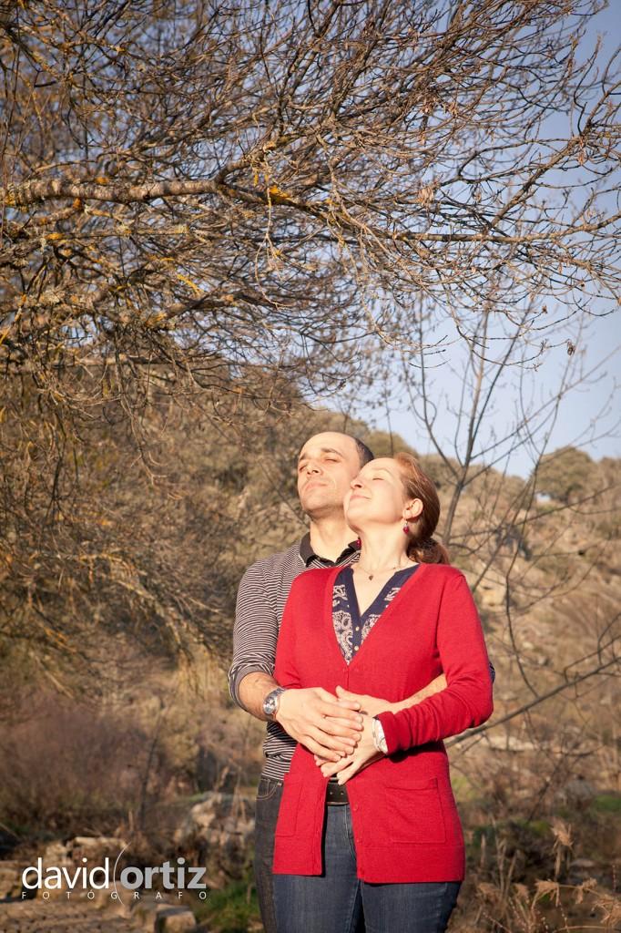 Fotografía y reportaje de la Pre Boda de Esther y Luigi, realizado por David Ortiz Fotógrafo en Salamanca
