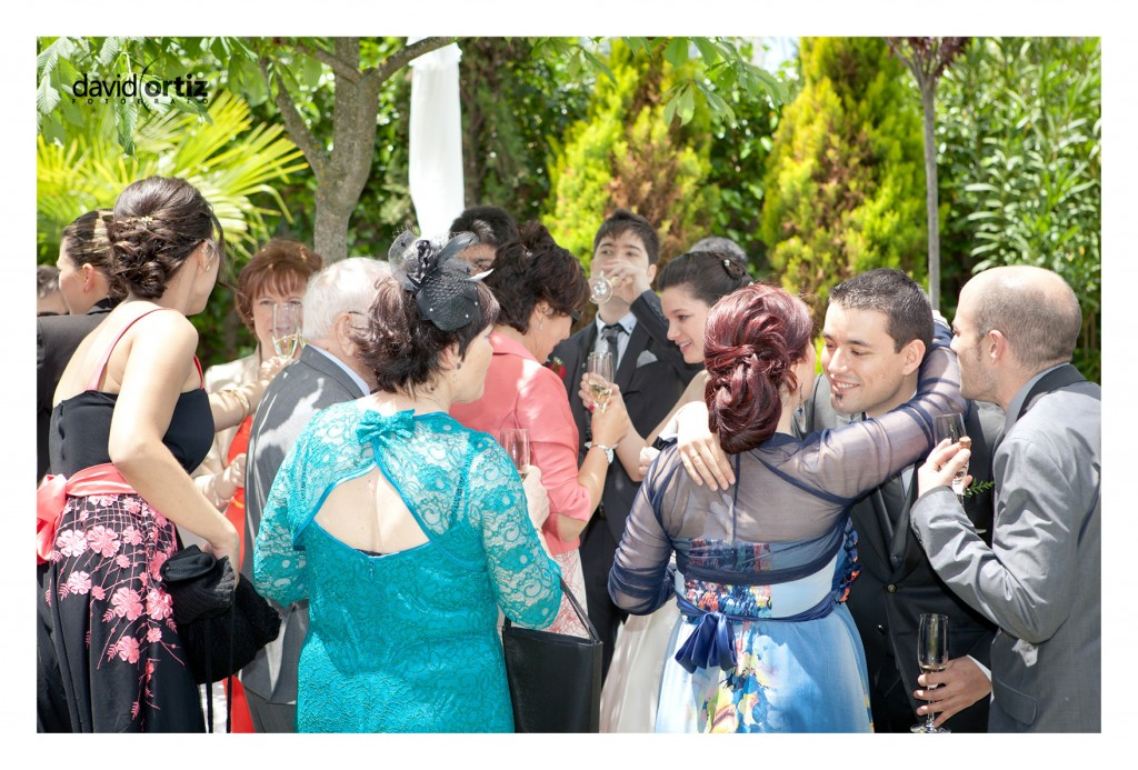 Fotografía y reportaje de la boda de Pablo y Vanesa, realizado por David Ortiz Fotógrafo en Valladolid