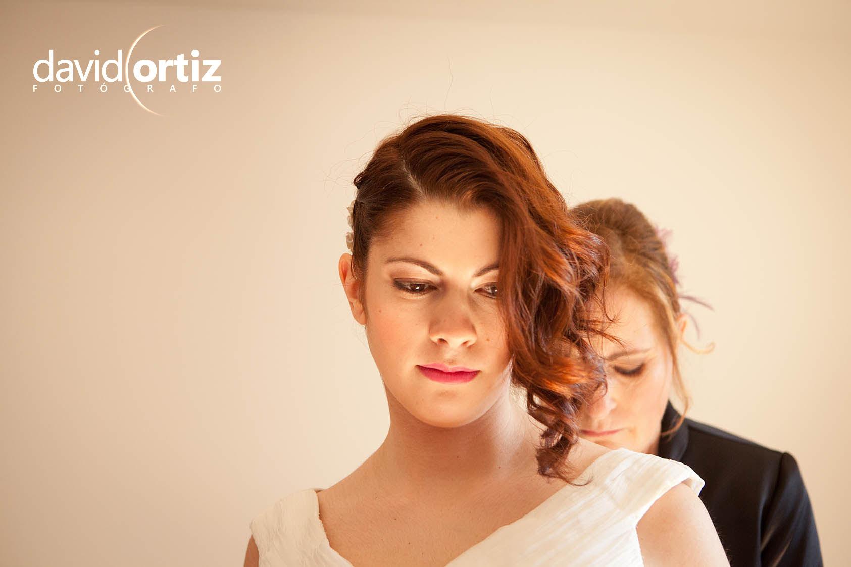 Fotografía y reportaje de la boda de Esther e Iván, realizado por David Ortiz Fotógrafo en Valladolid