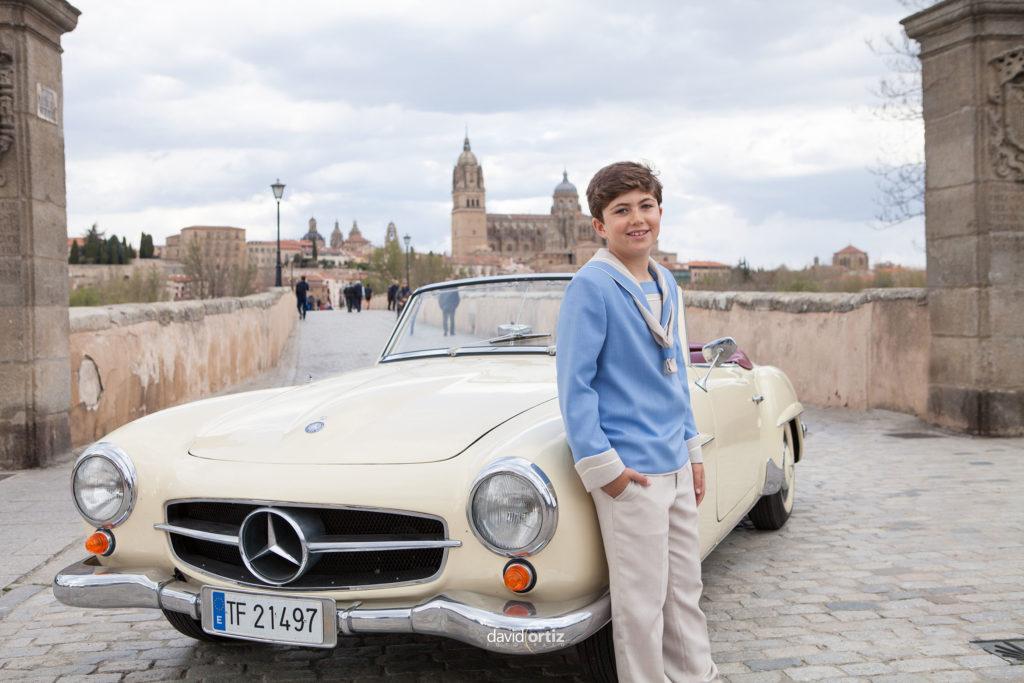reportaje de fotografia de comunión en Salamanca