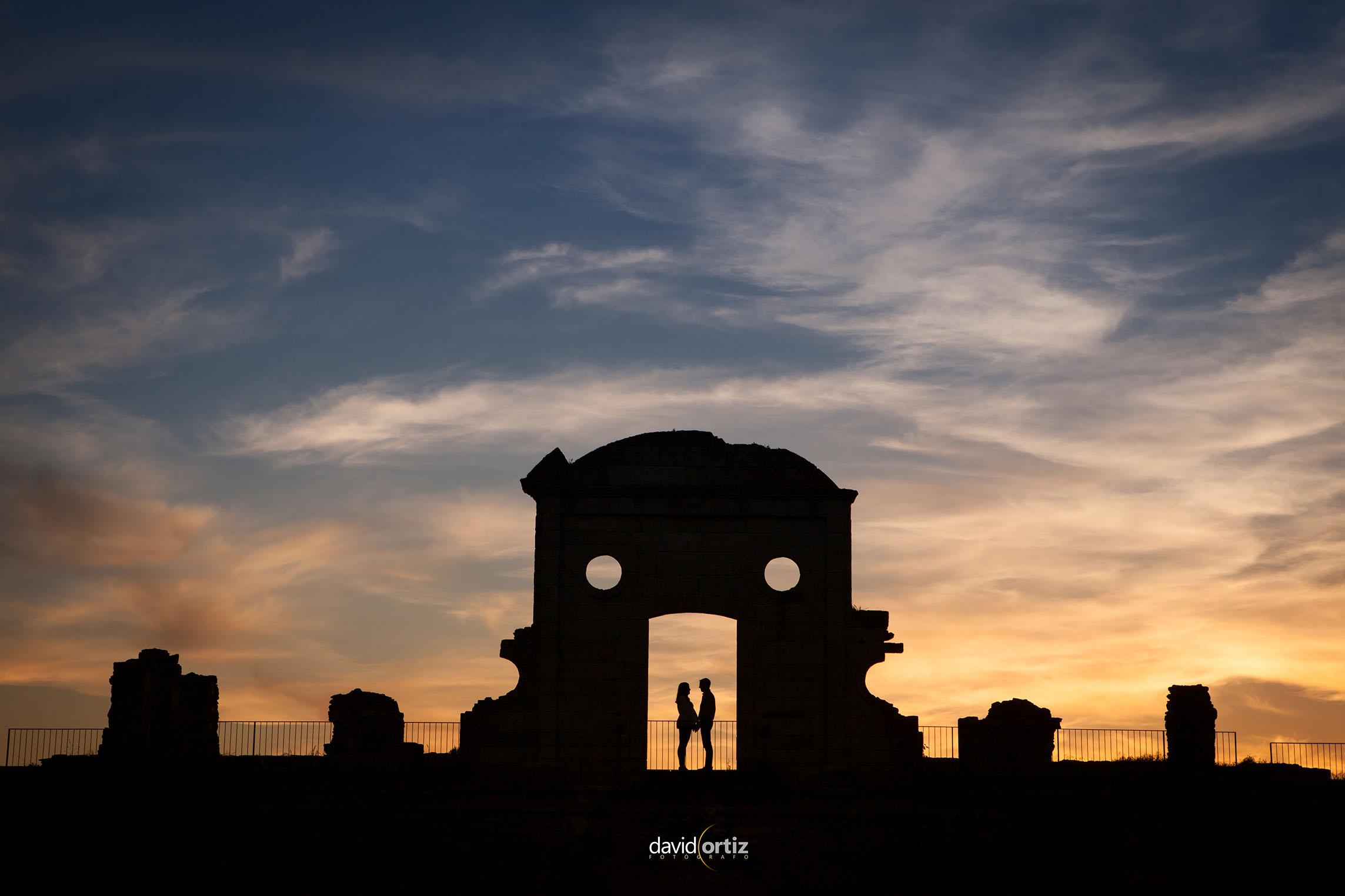 reportaje de pre boda en ciudad rodrigo